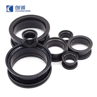 China Supplier Flexible Silicone Rubber Bellows Joint with Flange