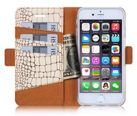 2016 New Bookstyle Scale Wallet Design Multi Color PU Leather Flip Mobile Phone Case For iPhone SE