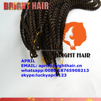 Synthetic Braiding Hair Senegalese Braids Crochet Hair Extensions