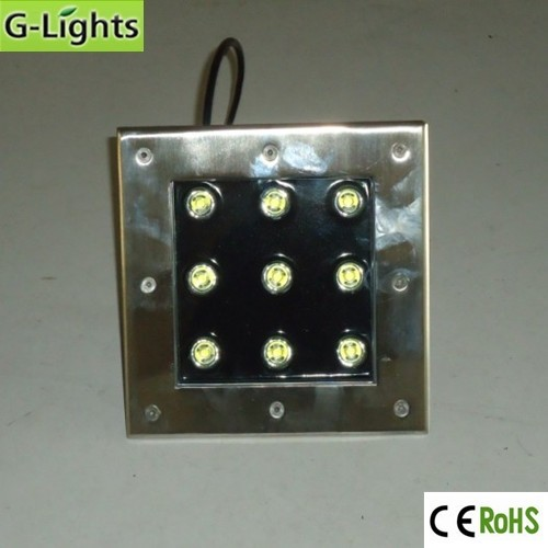 Competive price LED Underground light 9w inground lighting