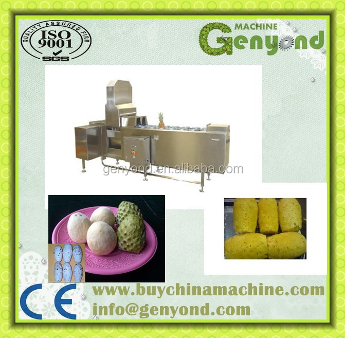 electricity pineapple peeler&peeling machine/equipment for pineapple processing