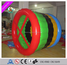Inflatable water cylinder roller/human sized hamster ball/Inflatable Water Roller