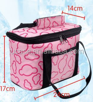 Promotional Disposable Cheap Beer Wine Lunch Large Thermal Insulated Cooler Bag For Frozon Food