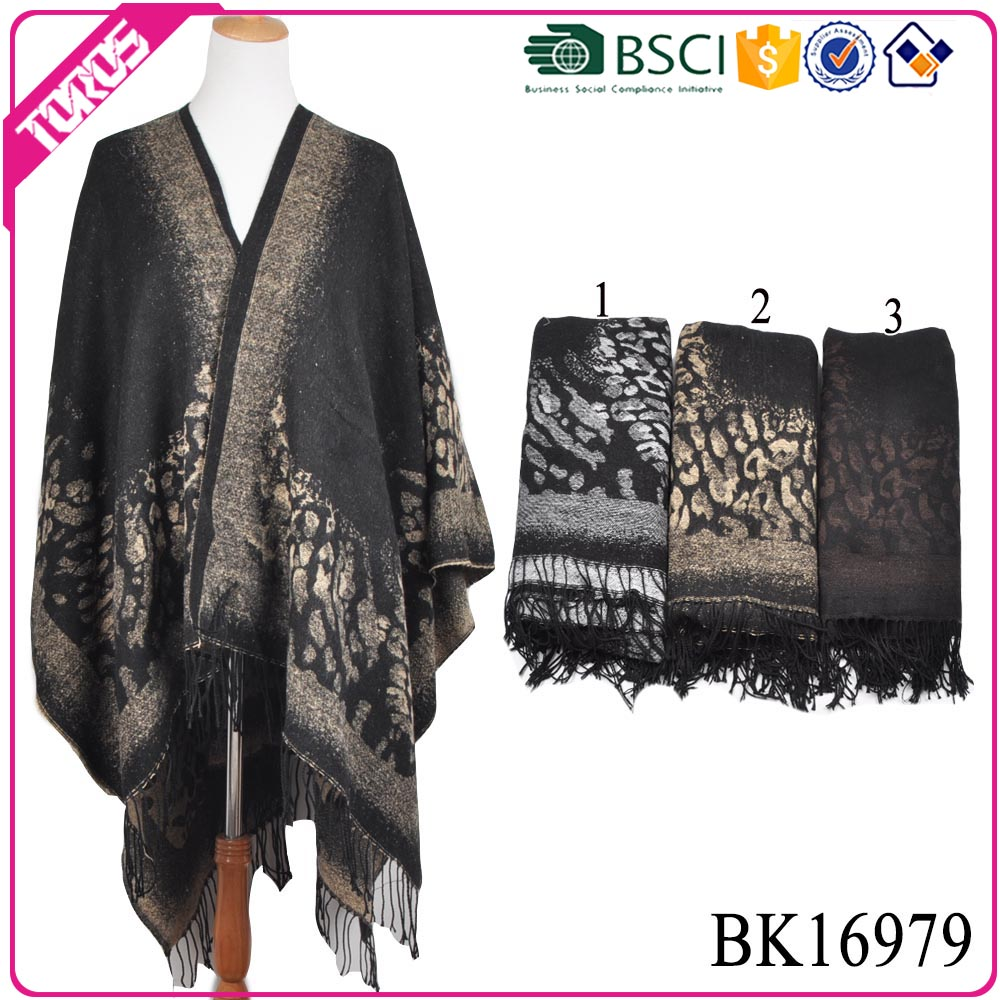 TOROS winter shawl crochet knitted pattern 2016 women cashmere poncho