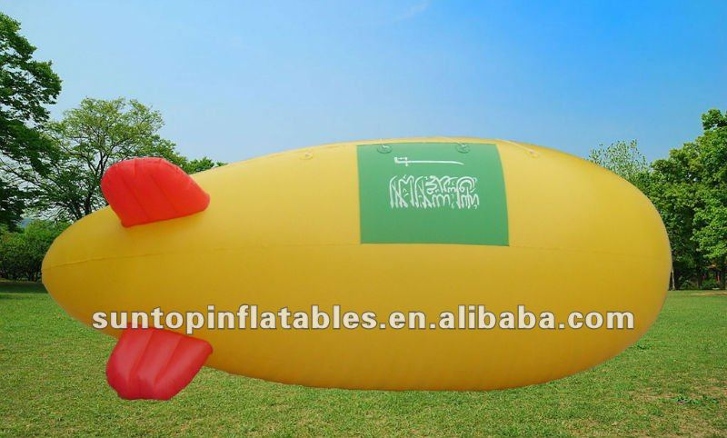 most durable and popular customized advertising inflatable helium blimp for sales