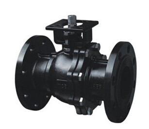 BFQ41F-16C Cast Steel High Platform Ball Valve