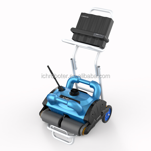 Energy-saving robotic pool cleaner, swimming pool robot cleaner