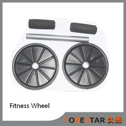 China Multifunction Fitness Equipment Good Looking Ab Wheel Exerciser / Ab Roller for Sale