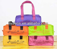 Nonwoven insulated lunch bag
