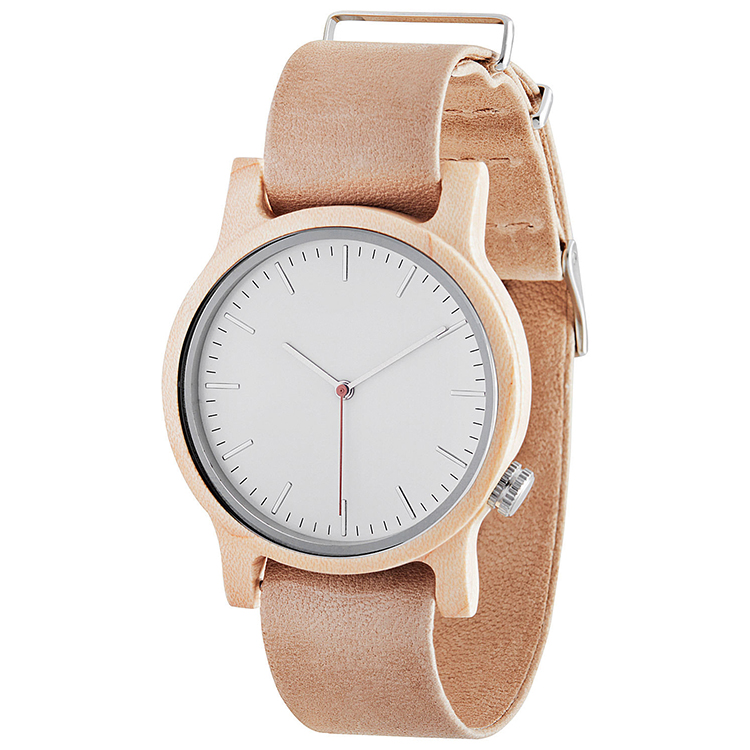 Wood Dial Leather Wrist Watches For Women Online