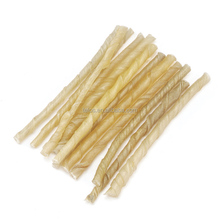 Rawhide natural dog chew twist stick pet snack for pet treat