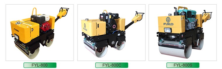 Walk behind Self-propelled Vibratory Road Roller (FYL-800C)