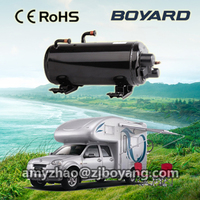hvac r407c carrier horizontal aircon compressor for military rv suv camping car caravan roof top mounted travelling truck