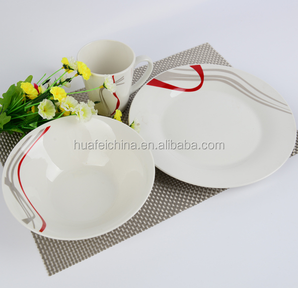 christmas dinner ware set ceramic, poland porcelain dinnerware set, cheap christmas dinnerware