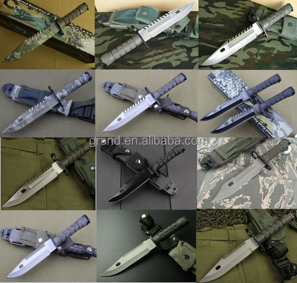 5Cr13Mov steel kitchen knife K29 Hunting camping rescue survival tactical knife 5185