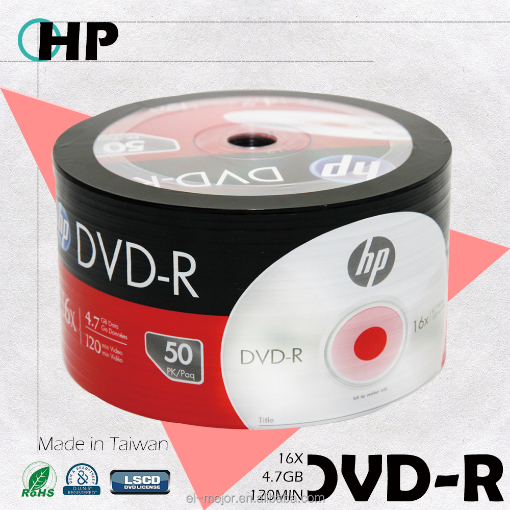 Made in Taiwan DVD Recordable 16X High Capacity Disc