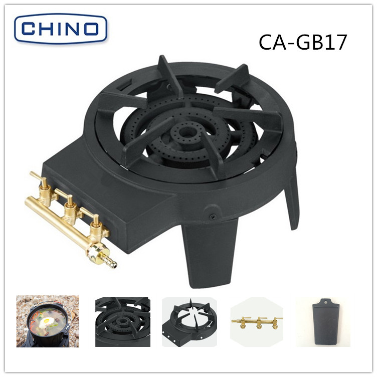 Cast iron ring burner gas stove Kitchen Appliance with CE certificate