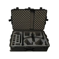 Shanghai factory OEM/ODM strong rugged waterproof professional hard plastic case for dji inspire 1