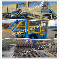 hydraulic concrete hollow solid paver block machine offers