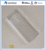 Clear hard Shell Back Case Cover for LG G3