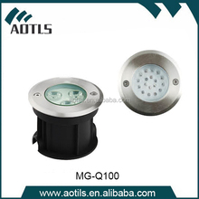 IP68 RGB waterproof underwater light fixture for fountains,pool, pond with Free sample
