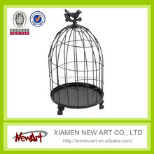 Cheap price birdcage black metal bird cage manufacturers bird cages
