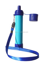 Advanced Survival Personal Water Filter for Camping, Hiking, Backpacking, and Prepping. Portable Purifier is BPA Free