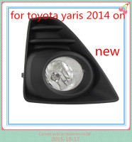 Car spare parts for Toyota yaris 2014 ON FOG LAMP TOP QUALITY