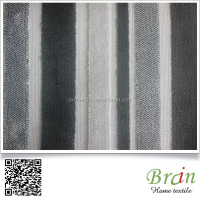 Hot Selling Striped Pattern Sofa Upholstery Fabric