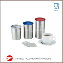 New type top sale tea sugar coffee canister