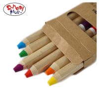 Wood crayons 6 packs colored pencils for painting