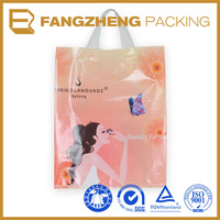 Biodegradeable Plastic Bag Sofe Loop Handle With Printing
