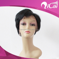 6A Short Human Hair Wigs for White Women