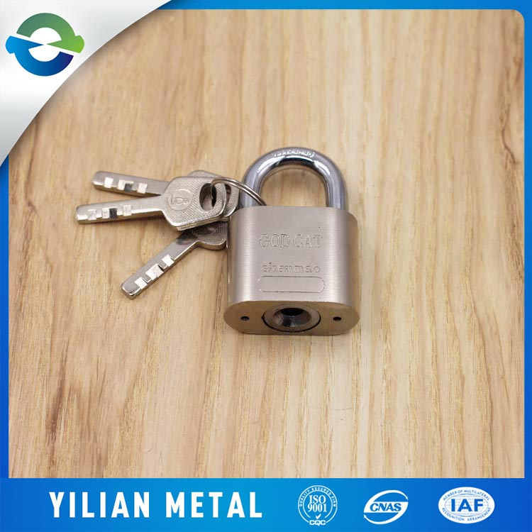 China Supplier High Quality Stainless Steel Master Lock Padlock Heart Yaer Padlock
