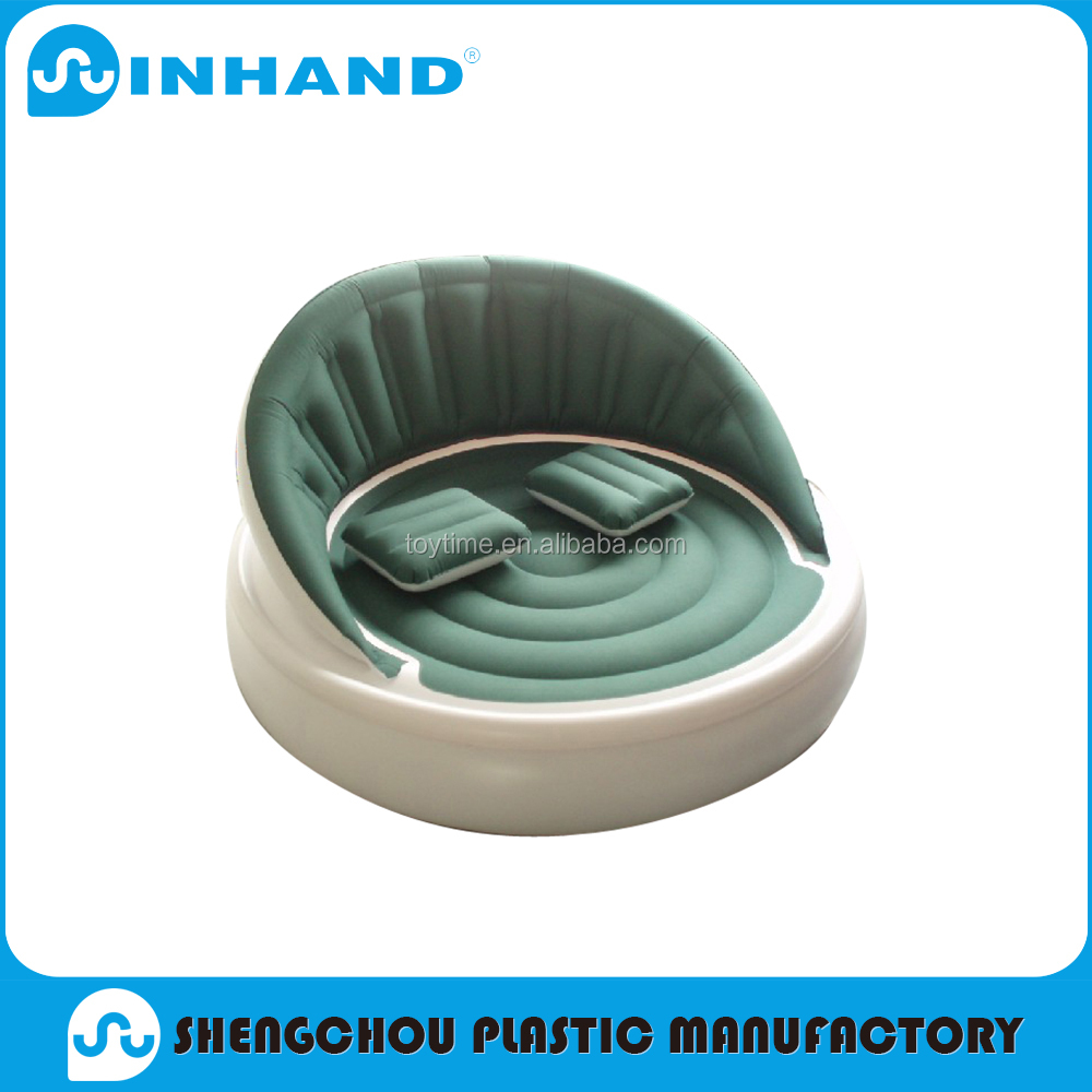 wholesale pvc inflatable water sofa chair for hot sale 2017