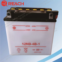 Wholesale 12V 9Ah Batrex Dry Cell Motorcycle Lead Acid Battery