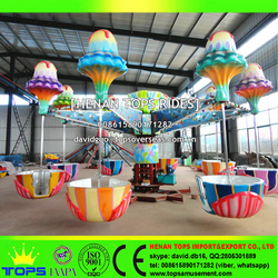 Aqua Park Outdoor Amusement Rides Rotary Romantic Jellyfish For Kiddie