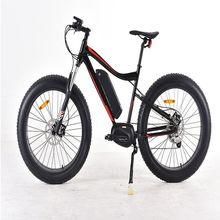 48V 1000W Mid drive fat tires Snow e bike electric fat bike
