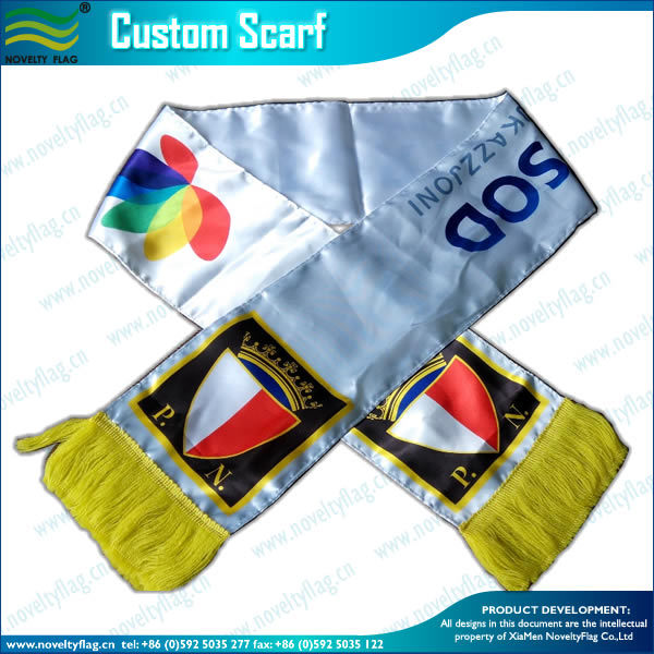 Own Design Fashion Digital Wholesale Polyester Scarf