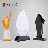 New Design Handmade Crystal Blank Trophy