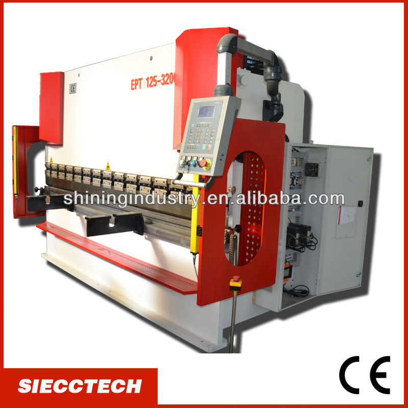 SIECC 200TON HYDRAULIC CNC METAL PLATE BENDING MACHINE