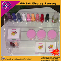 Nail polish acrylic display rack