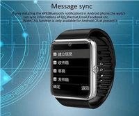 Promotion news! water proof smart bluetooth watch 2015
