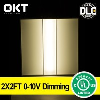 5Years Warranty, 0-10V Dimming Meanwell driver 65W 2X4ft LED Troffer 100-277V