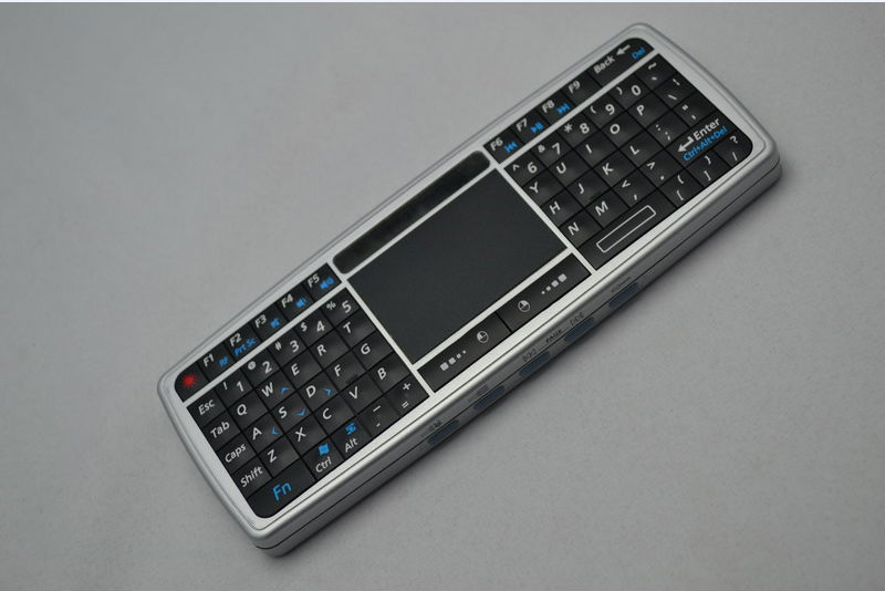 Mini Portable 2.4GHz Wireless Keyboard Finger Navigation with Touchpad Mouse Keypad Combo
