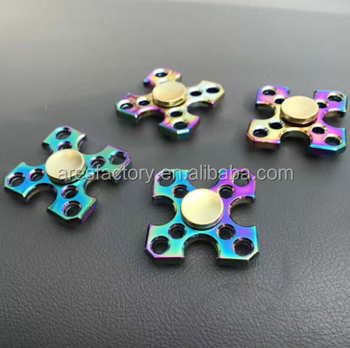 Anxiety Relief Triangle Plastic EDC Hand Spinner gifts