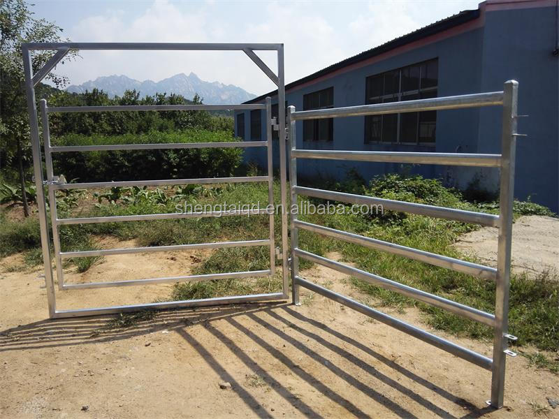 Wholesale Galvanized cattle guard fence panel/Backyard metal fence