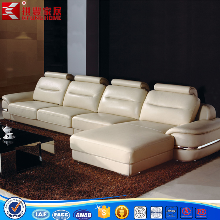 modern simple style living room baseball leather sofa furniture