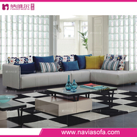 American Style living room furniture general use fabric reclining corner lounge suite sofa