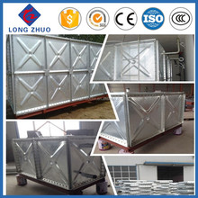 Water storage equipment, Hot dipped galvanized steel tank